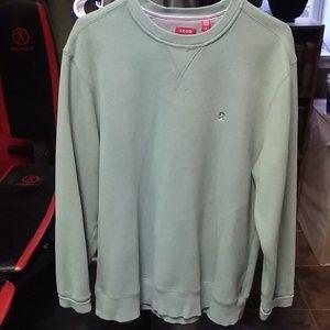 Seafoam green Izod sweatshirt